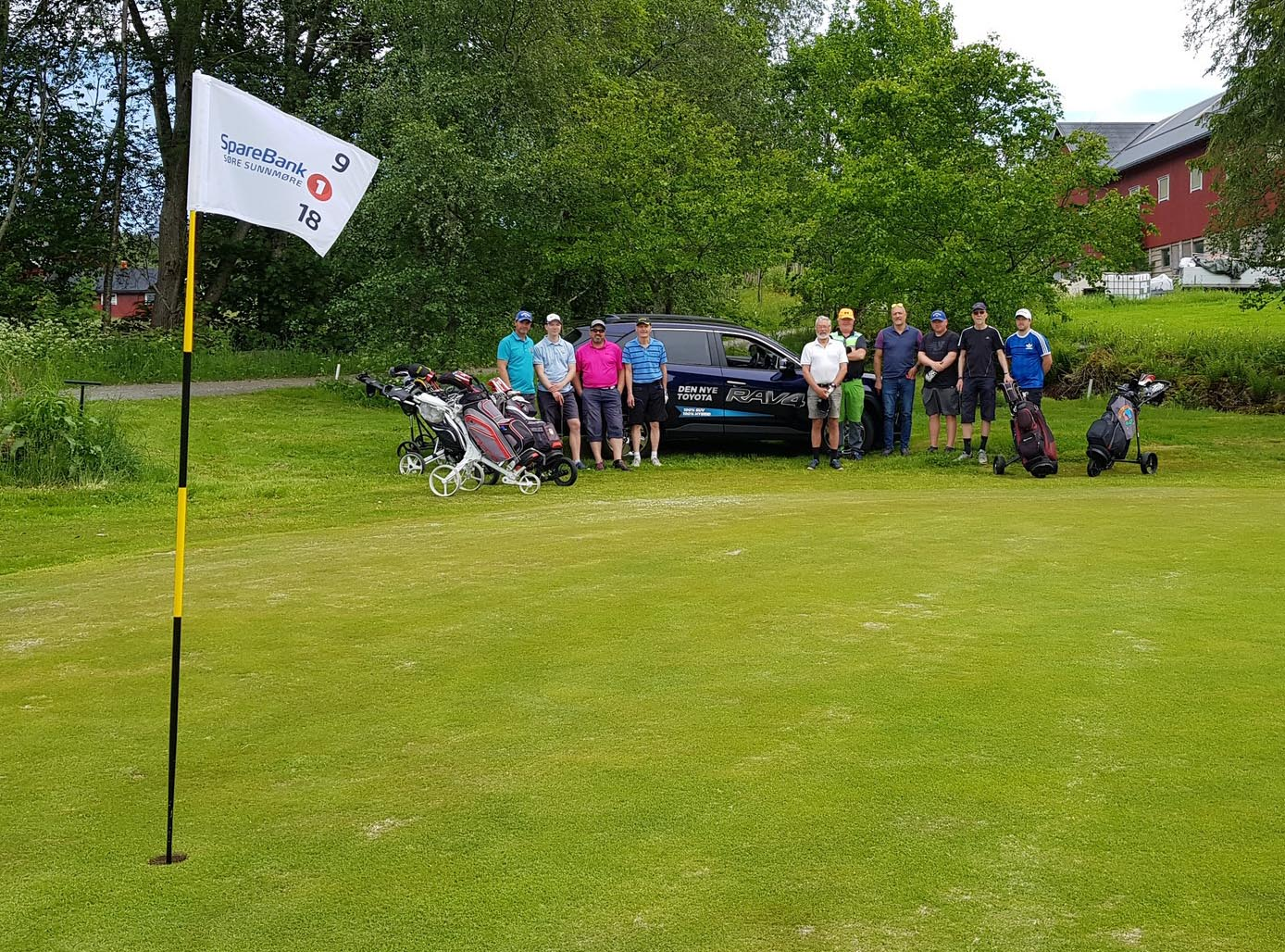 Toyota Sunnmore matchplay cup bil 1